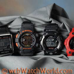 Casio G-Shocks and a Waveceptor