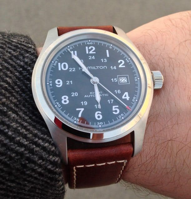 b37c8fef1709 Hamilton Khaki Field Automatic Review