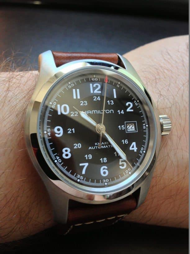 a8b46a9b1 Hamilton Khaki Field Automatic Review | Reviews by WYCA