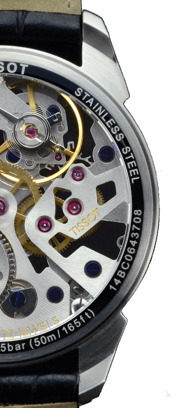Tissot Squelette Mechanical Movement