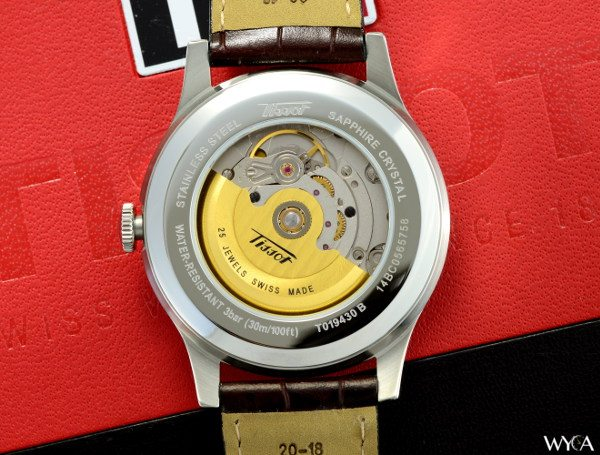 Tissot Visodate Heritage with an ETA 2836-2 Automatic Movement