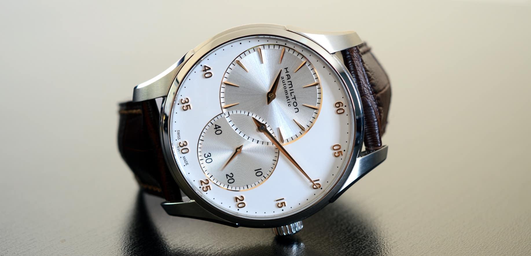 Hamilton jazzmaster regulator automatic review watch for Hamilton dive watch