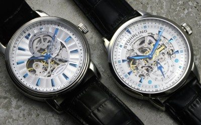 Stuhrling Original Skeleton Combination