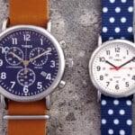Timex Weekender Chronograph & Tiimex Weekender Reversible
