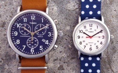 We Took Some Pics of the Timex Weekender Reversible & Weekender Chronograph