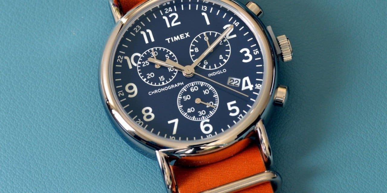 4b165d0214a9 Timex Weekender Chronograph Review