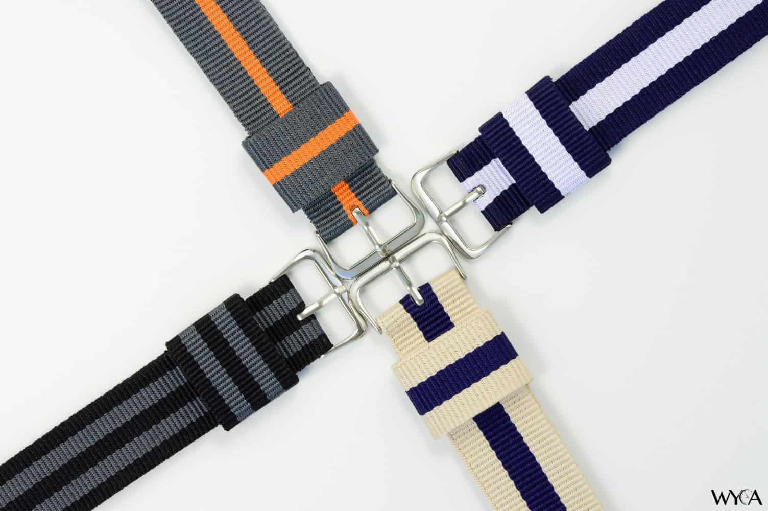 nato watch strap how to fit