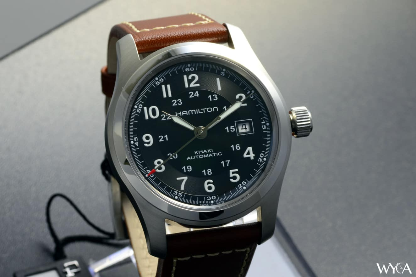 50c7f428a0e Hamilton Khaki Field Automatic Review | Reviews by WYCA