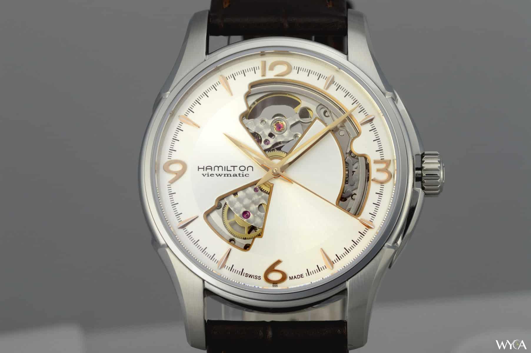 Honest Nice Hamilton Jazz Master Open Heart Watches, Parts & Accessories