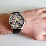 Tissot T-Complication Squelette Wrist Shot