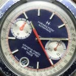Vintage Hamilton Pan-Europ Chrono-Matic
