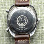 Vintage Hamilton Pan-Europ Chrono-Matic Caseback