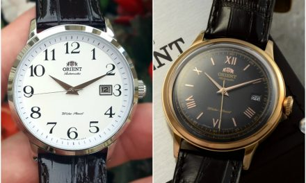 Two Sub-$150 Dress Watches from Orient: The Bambino & Symphony