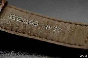 Seiko SARB017 Alpinist Strap