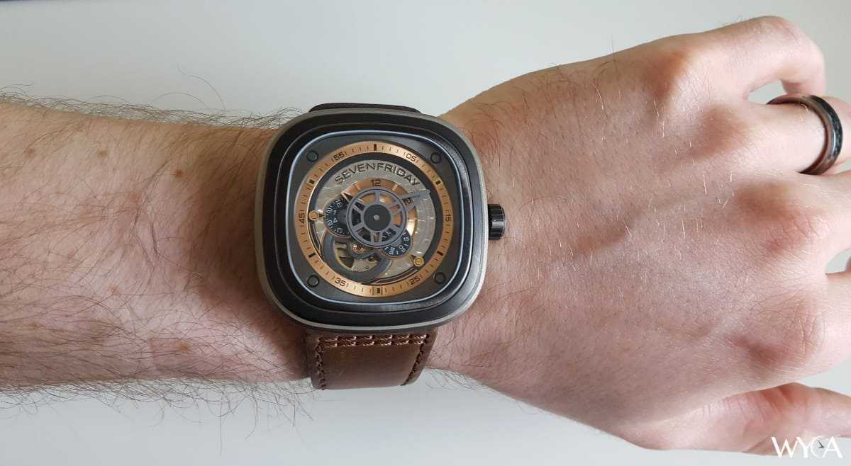 Sevenfriday P Series P2 01 Watch Review Reviews By Wyca P1b Silver Automatic Wrist Shot