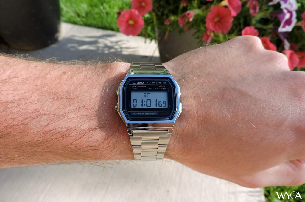 Casioa A-158W Wrist Shot