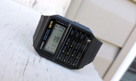 A Throwback to My First Watch: The Casio CA-53W Databank Calculator Watch