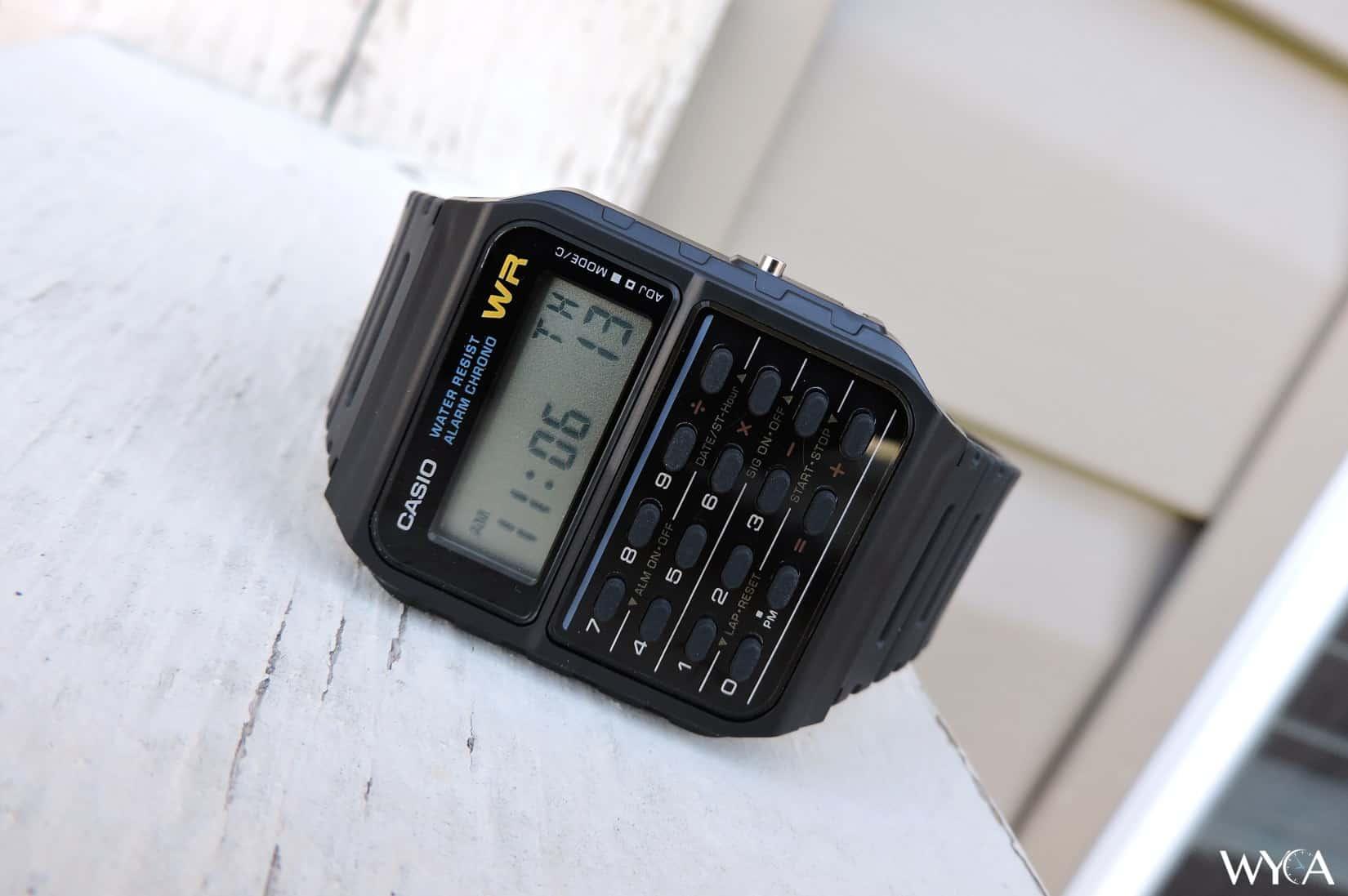Casio Databank CA-53W Calculator Watch
