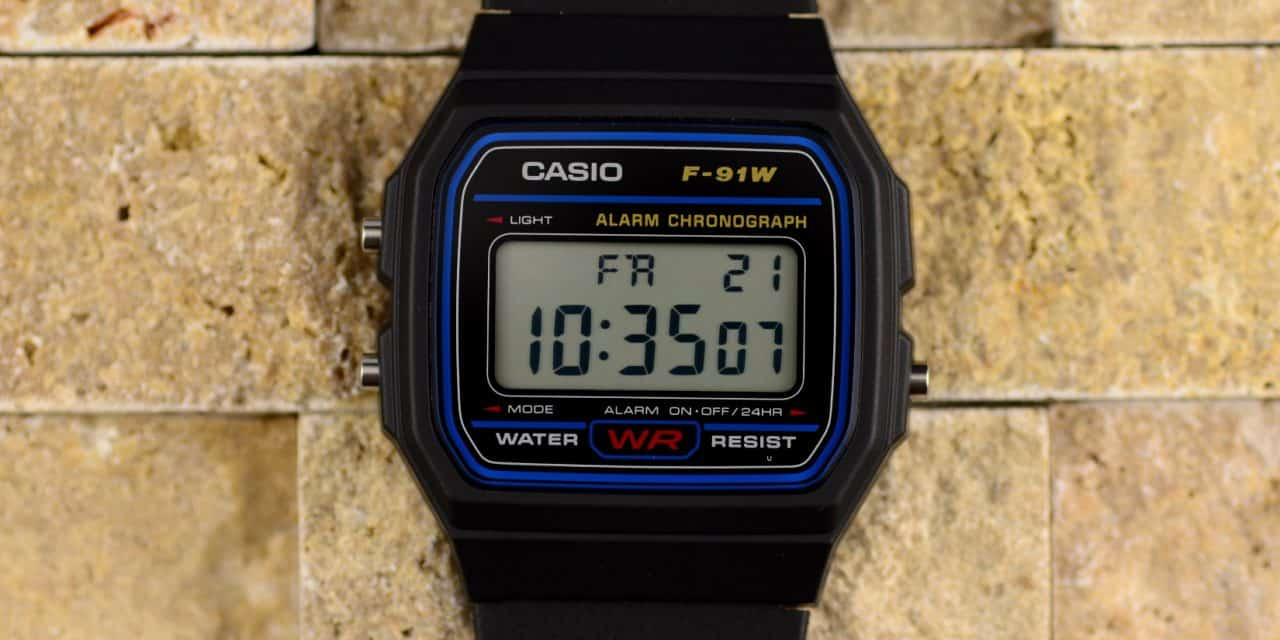 Image result for Casio F91W photos