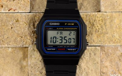 The Venerable Casio F-91W Digital Watch: The Digital Watch That Took Over the World