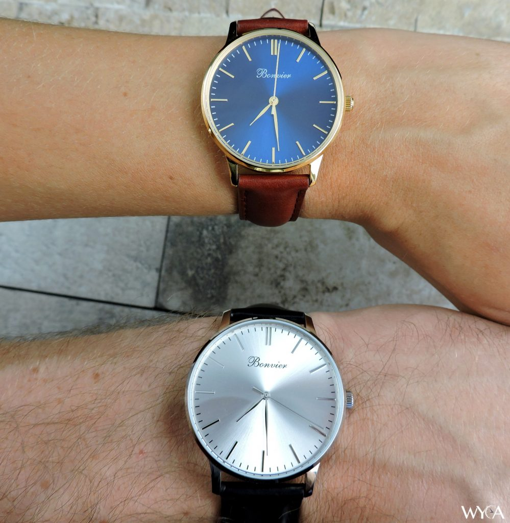 Bonvier Classic Watches: 40mm & 36mm