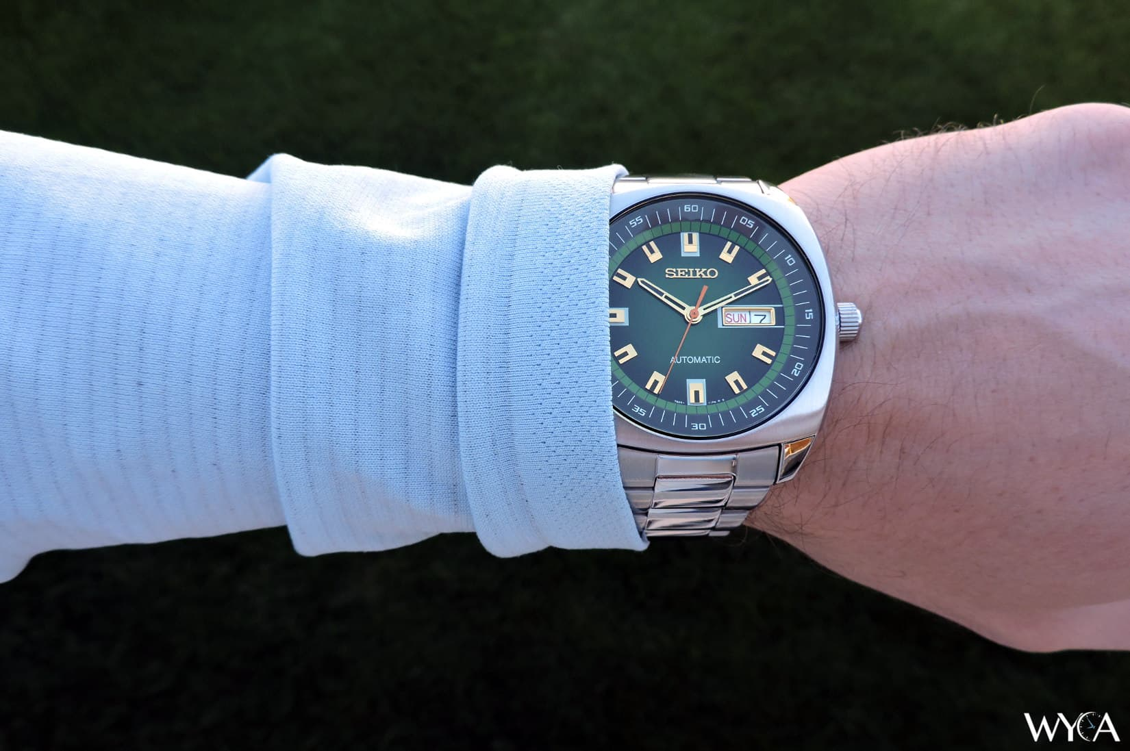 Seiko Recraft SNKM97 Hands-On Overview | Watch Reviews