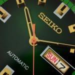 Seiko Recraft SNKM97 Dial Macro