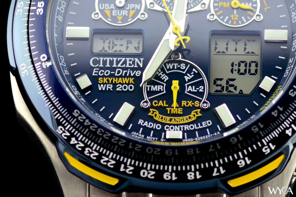 Citizen Skyhawk Blue Angels Dial Macro