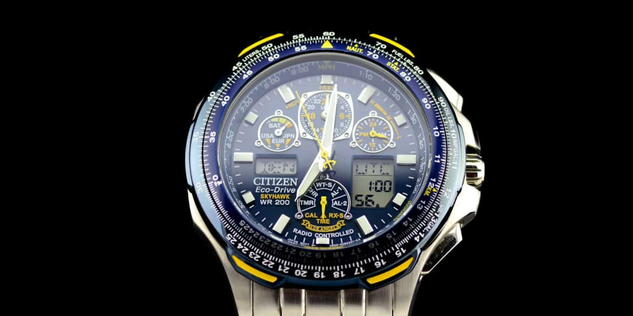 63ff8896c5a Citizen Skyhawk Blue Angels A-T Review