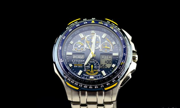 Citizen Skyhawk Blue Angels Review