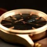 Nixon Sentry Leather - Rose Gold Case, Markers, & Hands