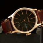 Nixon Sentry Leather A105 Day/Date