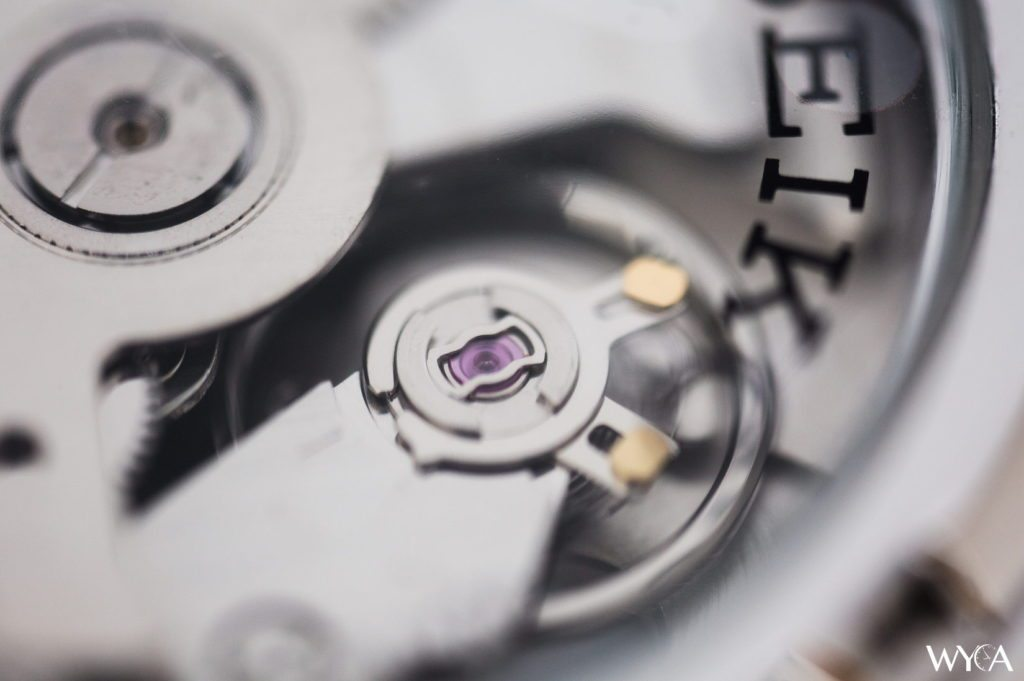 Seiko 5 SNK807 Movement Macro