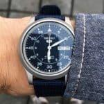 Seiko 5 SNK807 Wrist Shot