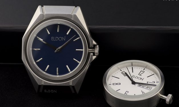 Hands-On With the Eldon Interchangable Watch