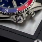 Orient Mako Rubber FEM65003DW Bezel & Crowns
