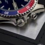 Orient Mako Rubber FEM65003DW Bezel & Crowns #2
