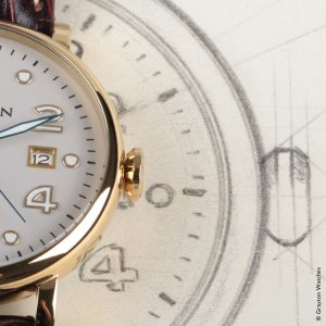 Grayton Automatic Watch Design Sketch
