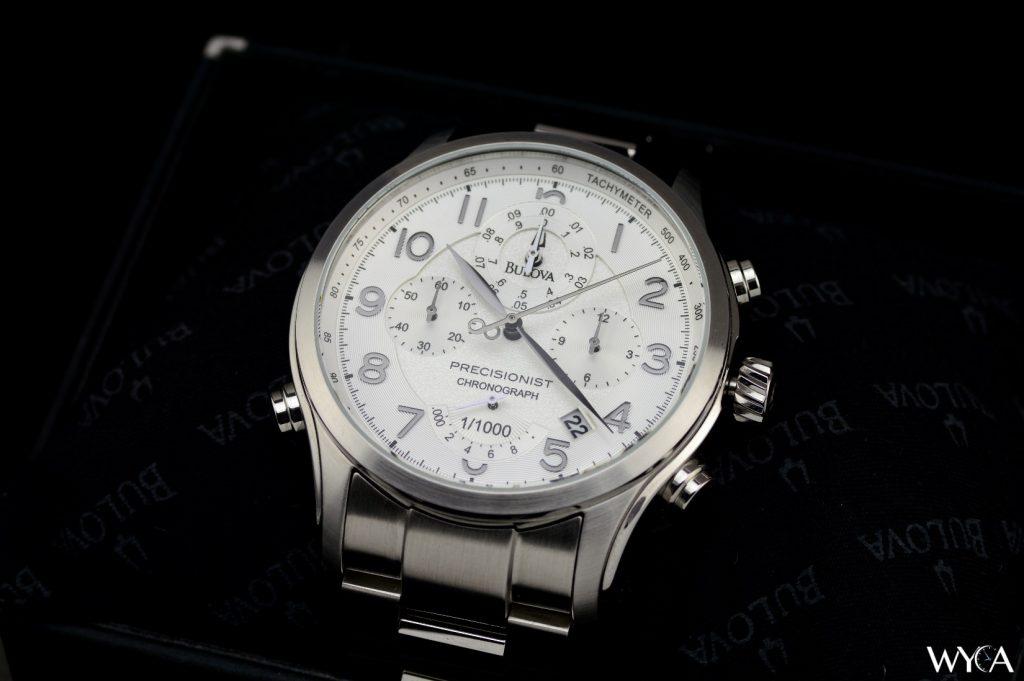 Bulova Wilton 96B183 Precisionist Chronograph Dial