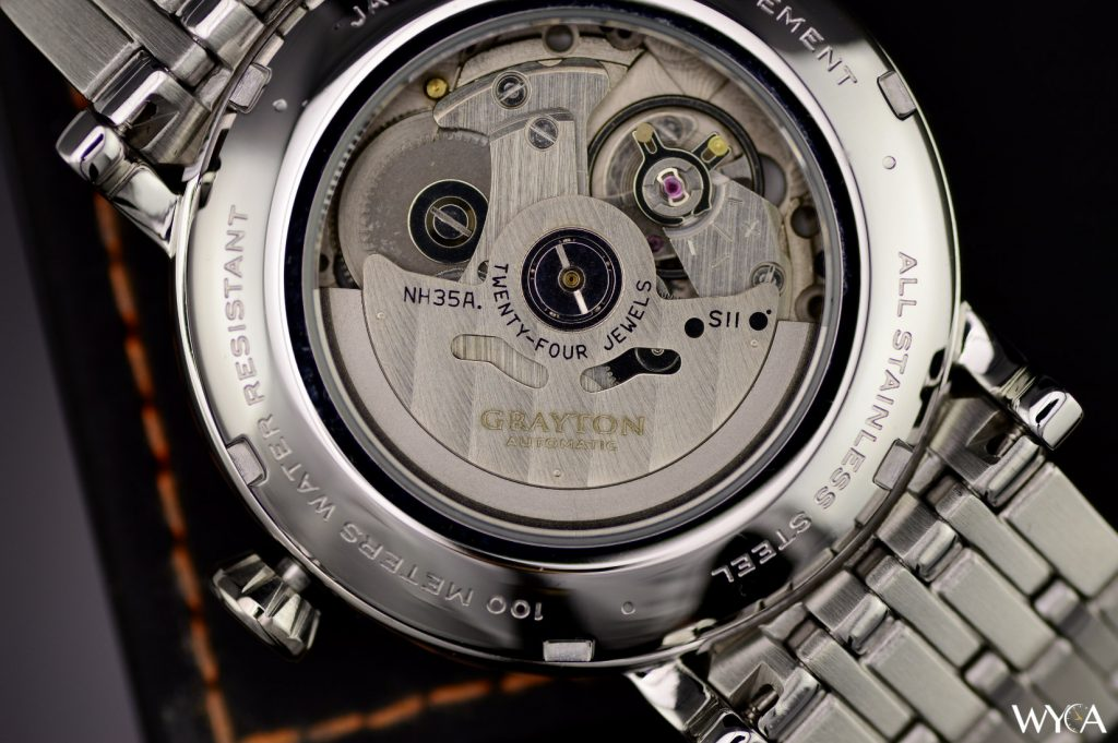 Grayton Watch w/ Seiko NH35A Automatic Movement
