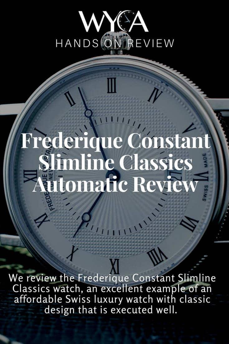 Frederique Constant Slimline Classics Automatic