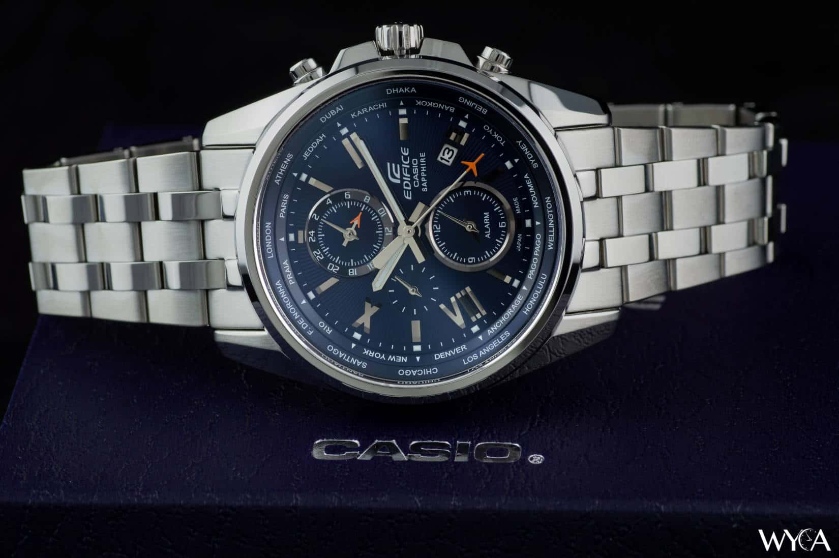 Casio Edifice World Time Review