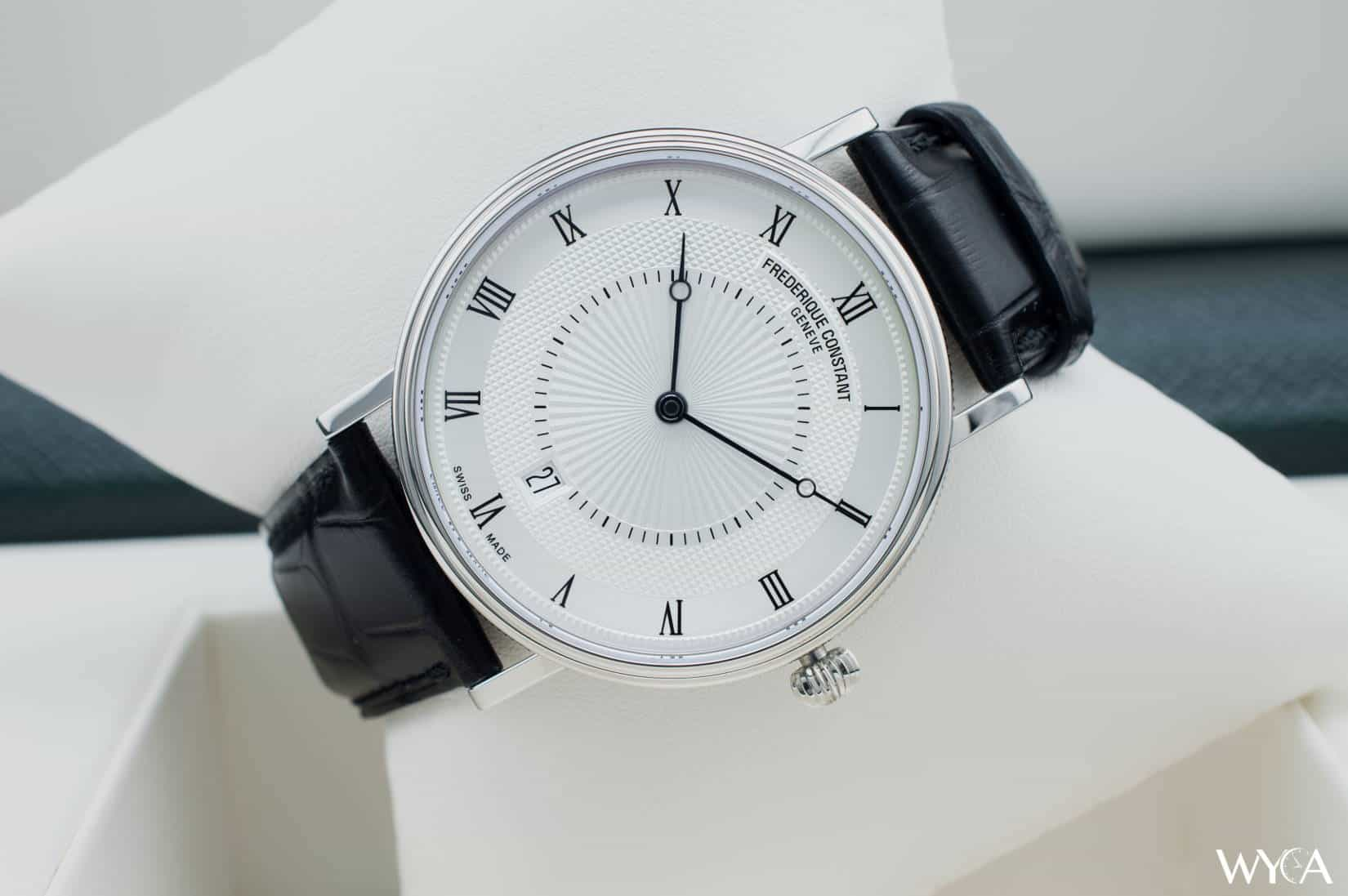 Swiss watches Frederik Constant (Frederique Constant): review, features, reviews 71