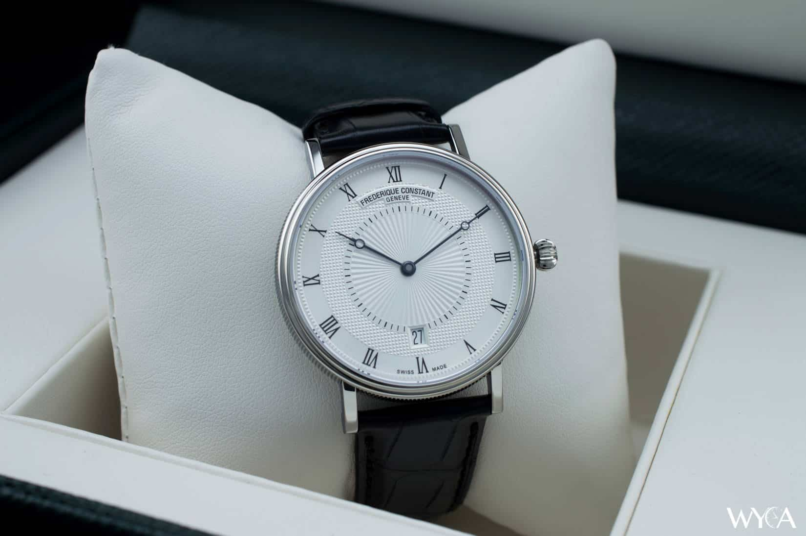 Swiss watches Frederik Constant (Frederique Constant): review, features, reviews 21