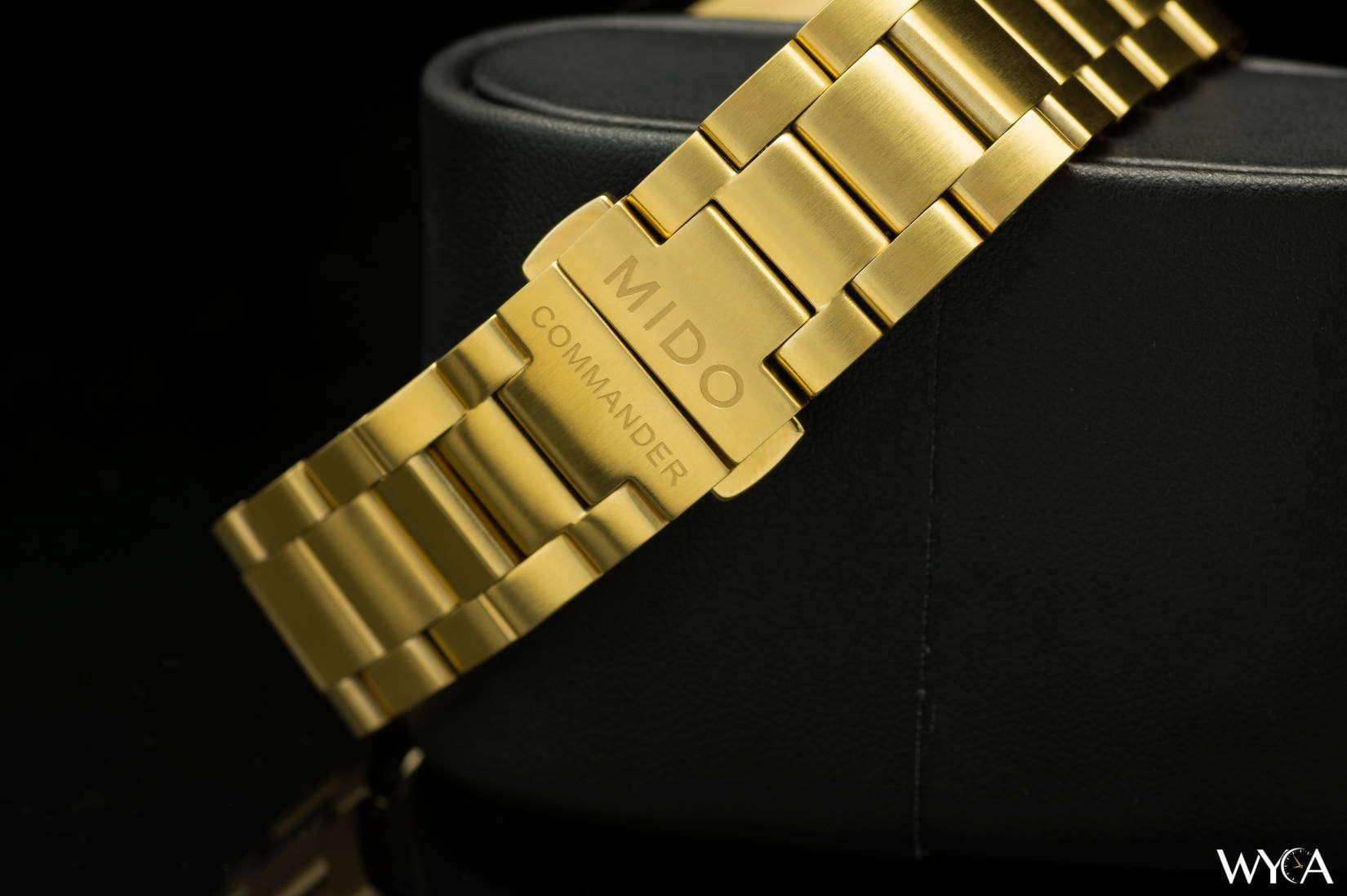 Mido Commander II Datoday Bracelet