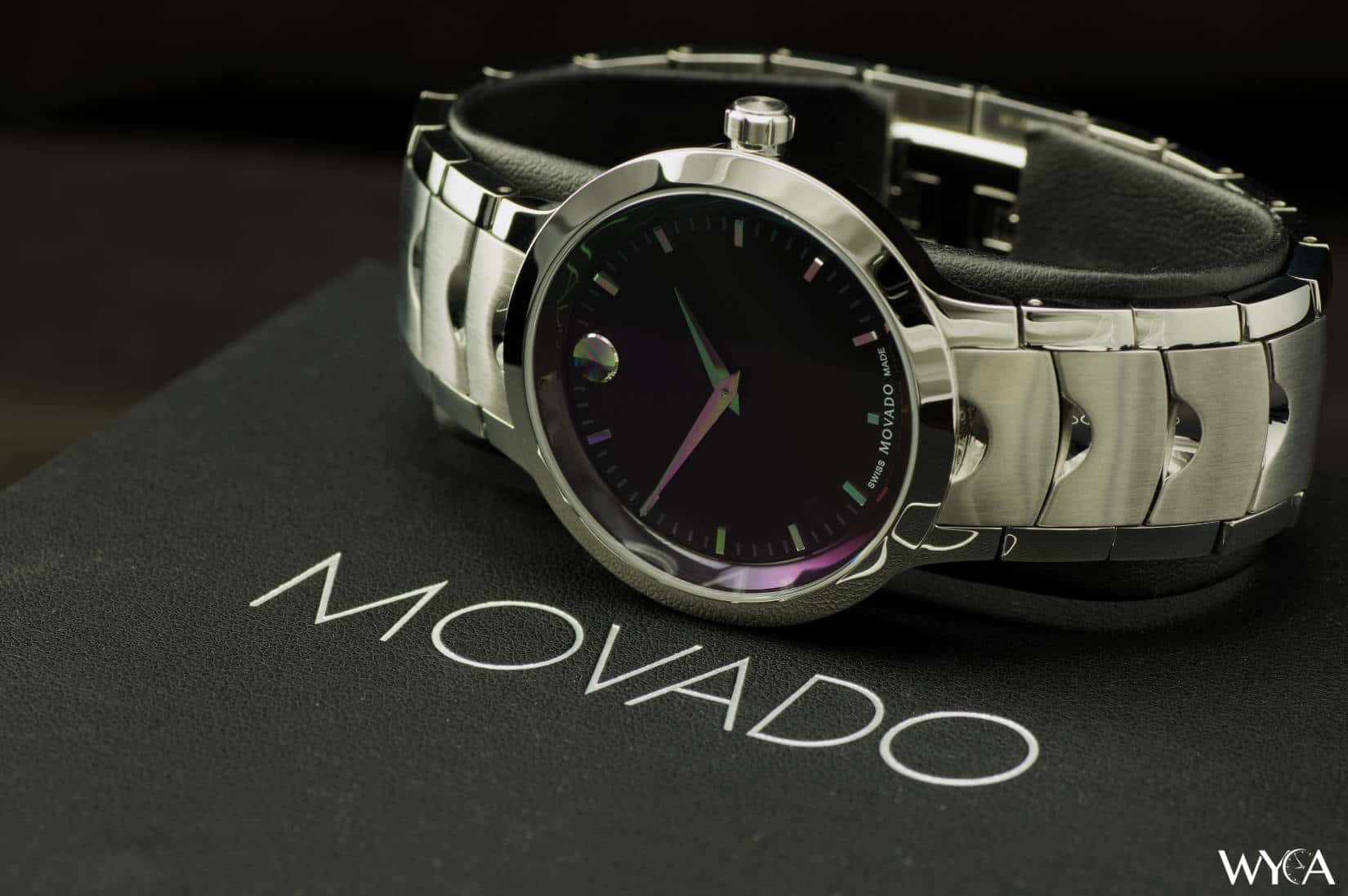 shipping luno product movado watch overstock s quartz today jewelry mens stainless men silver steel watches free