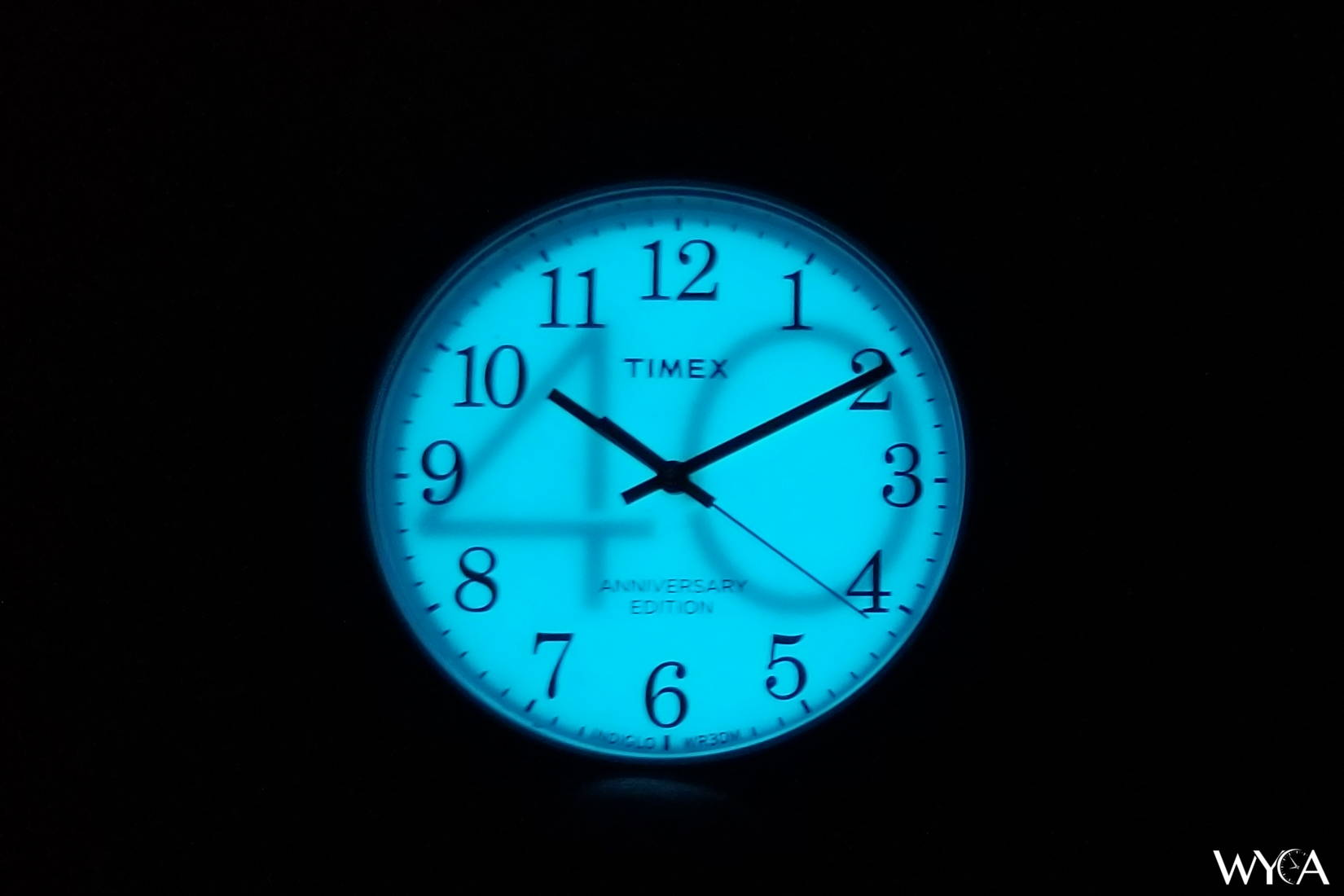 Timex Easy Reader 40th Anniversary Indiglo Backlight