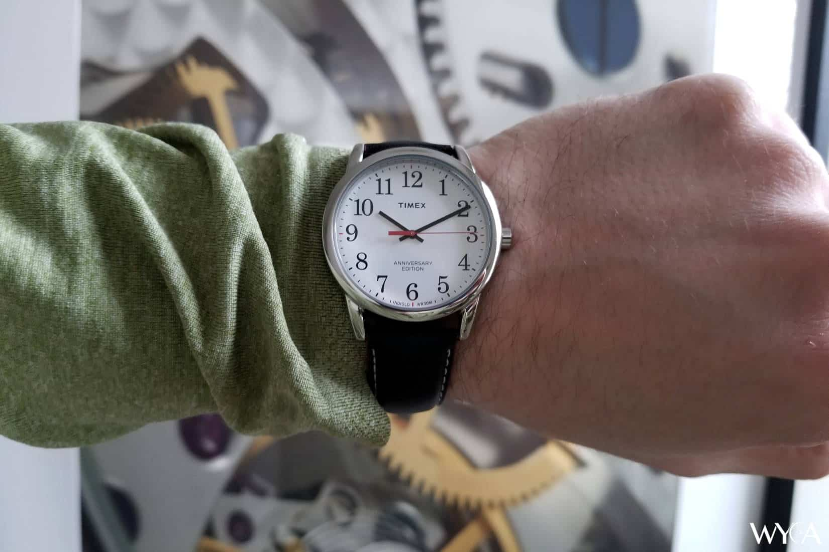 Timex Easy Reader Wrist Shot