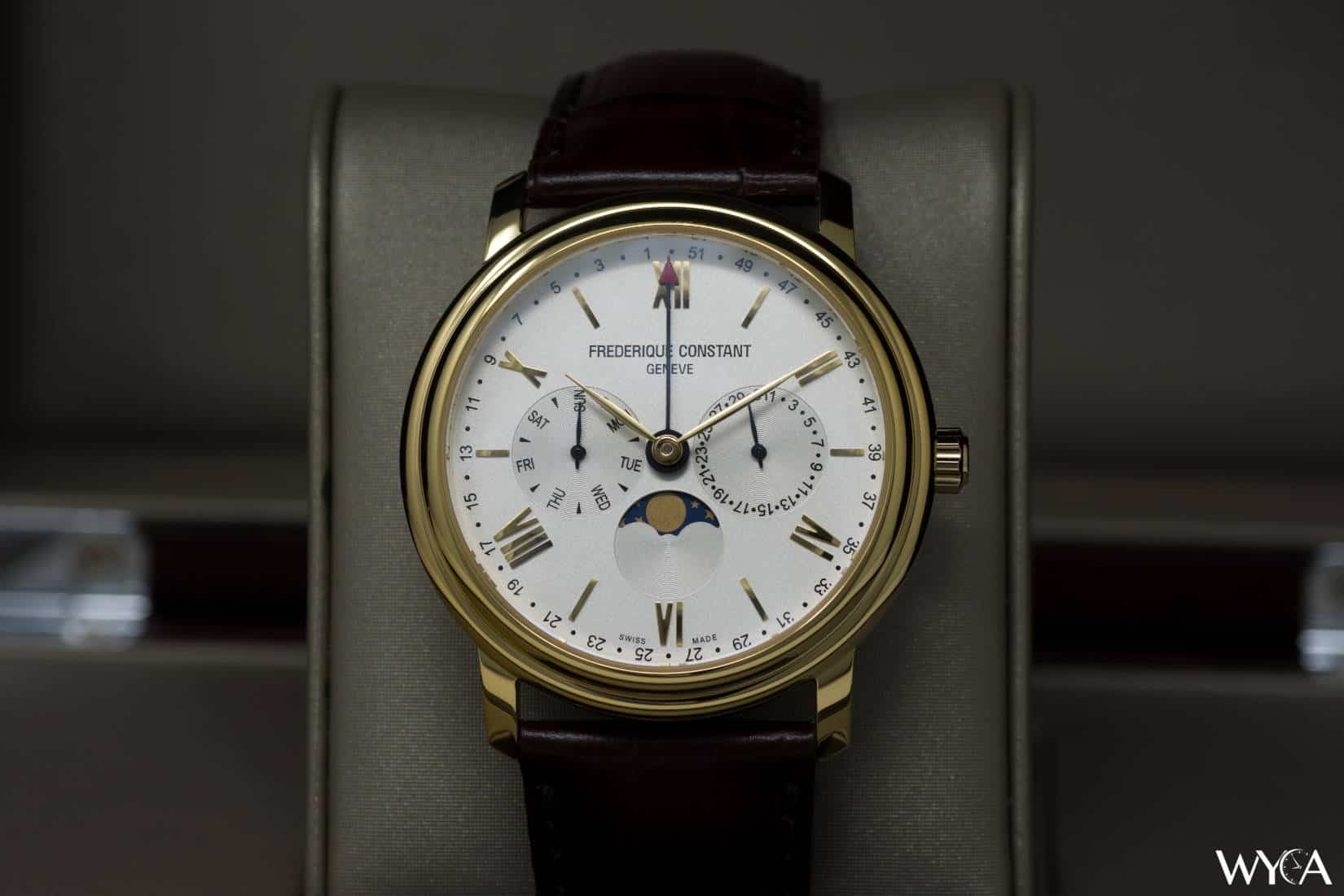 Frederique Constant Classics Business Timer Moonphase