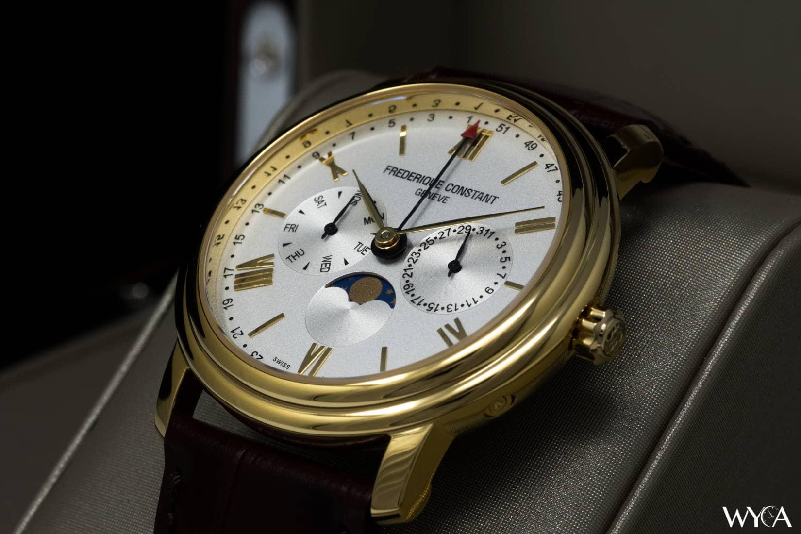 91558213e60 Frederique Constant Classics Business Timer FC-270SW4P5